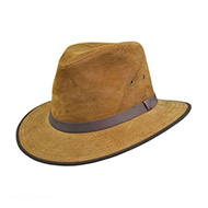 Leather Fedoras