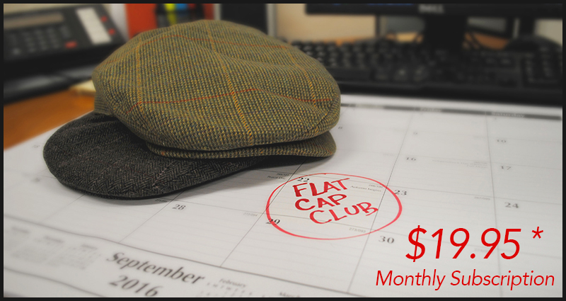 Flat Cap Of The Month Club - Village Hat Shop 0b22add5b55