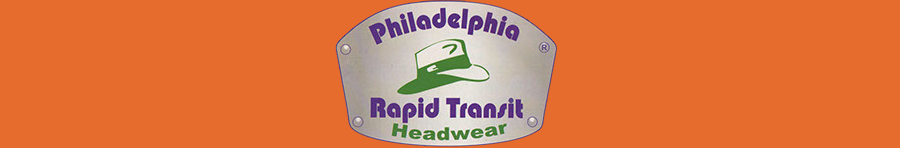 Philadelphia Rapid Transit Hats at Village Hat Shop