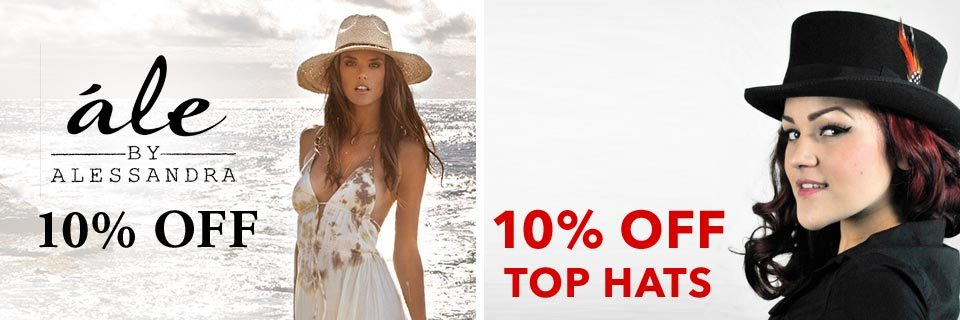 On Sale: ále by Alessandra and Top Hats