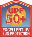 UPF 50+ - Excellent Sun Protection