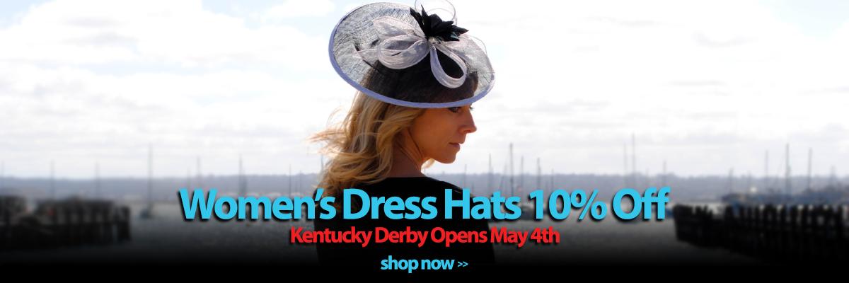 Style Womens Dress Hats 10percent off Sale
