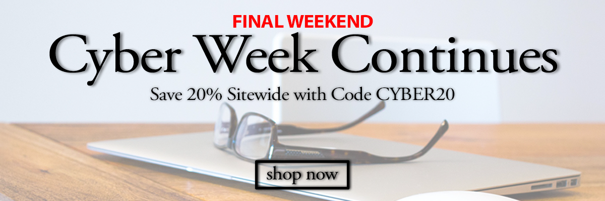 save 20percent sitewide with code CYBER20