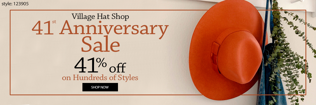 Save 41% on select styles this 41st anniversary sale