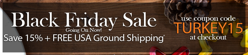 Save 15 percent off plus free usa ground shipping with coupon code TURKEY15