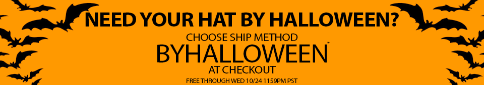 Need it by Halloween, use ByHalloween Ship Method