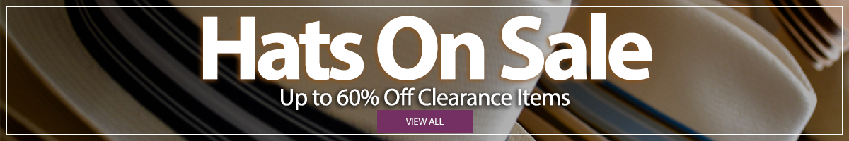All Hats on Sale Up to 60% off