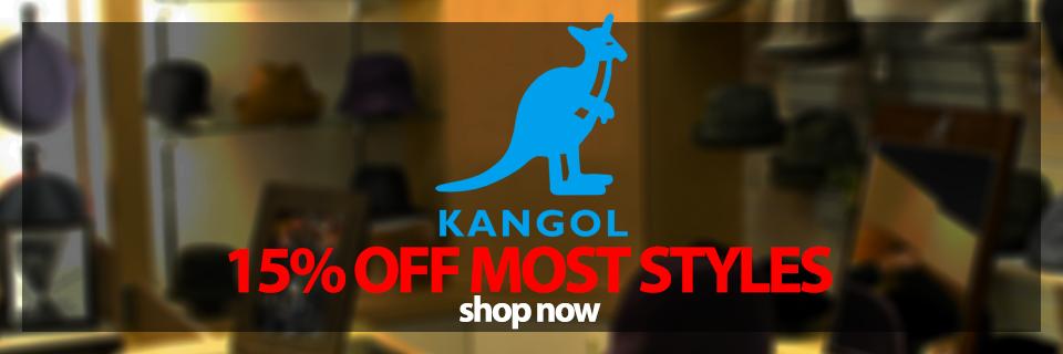 15percent Off Select Kangol Styles