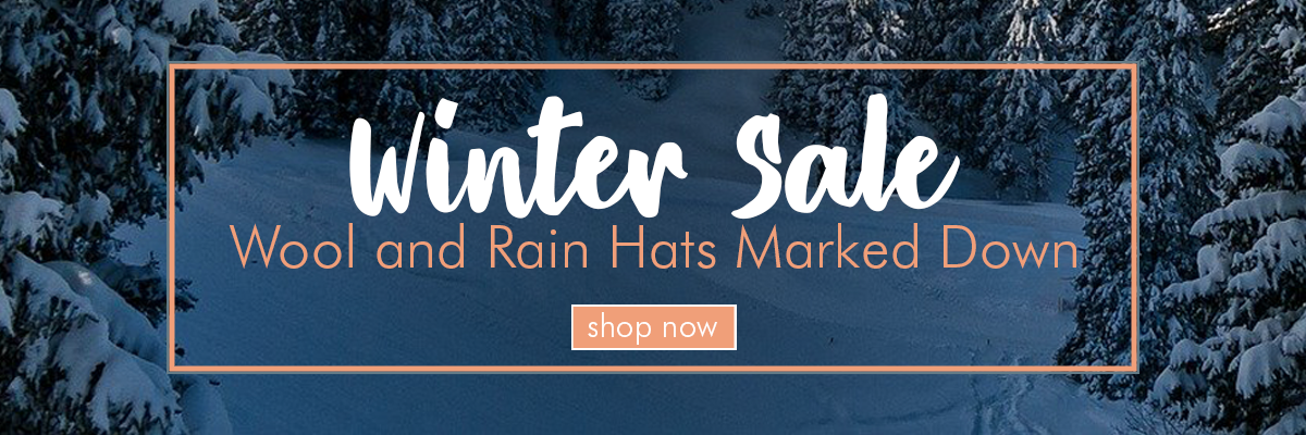 Sale Wool and Rain hats