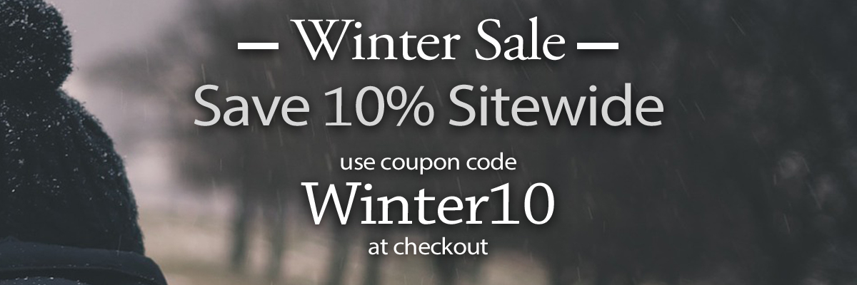 10% off sitewide with code WINTER10 at checkout