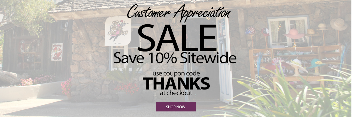 Save 10% Sitewide with code THANKS