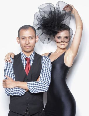 2013 photo of hat designer, Arturo Rios.