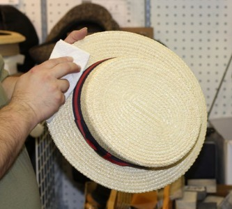 Hat Care | Cleaning a Straw Hat - Village Hat Shop