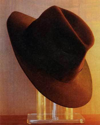The Indiana Jones Hat lives at George Lucas  5 be6cf44dcd