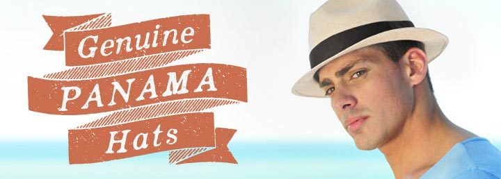 Genuine Panama Hats at Village Hat Shop