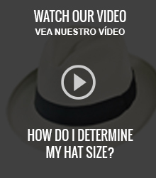 Hat Sizing - How to Determine Your Hat Size - Village Hat Shop 1a50e81549