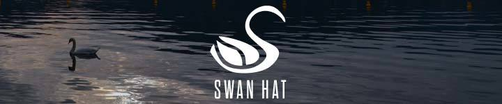 Swan Hat - Superior Quality Women's Dress Hats
