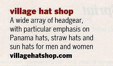 Awards and Recognition - Village Hat Shop  d5882fdf4ea