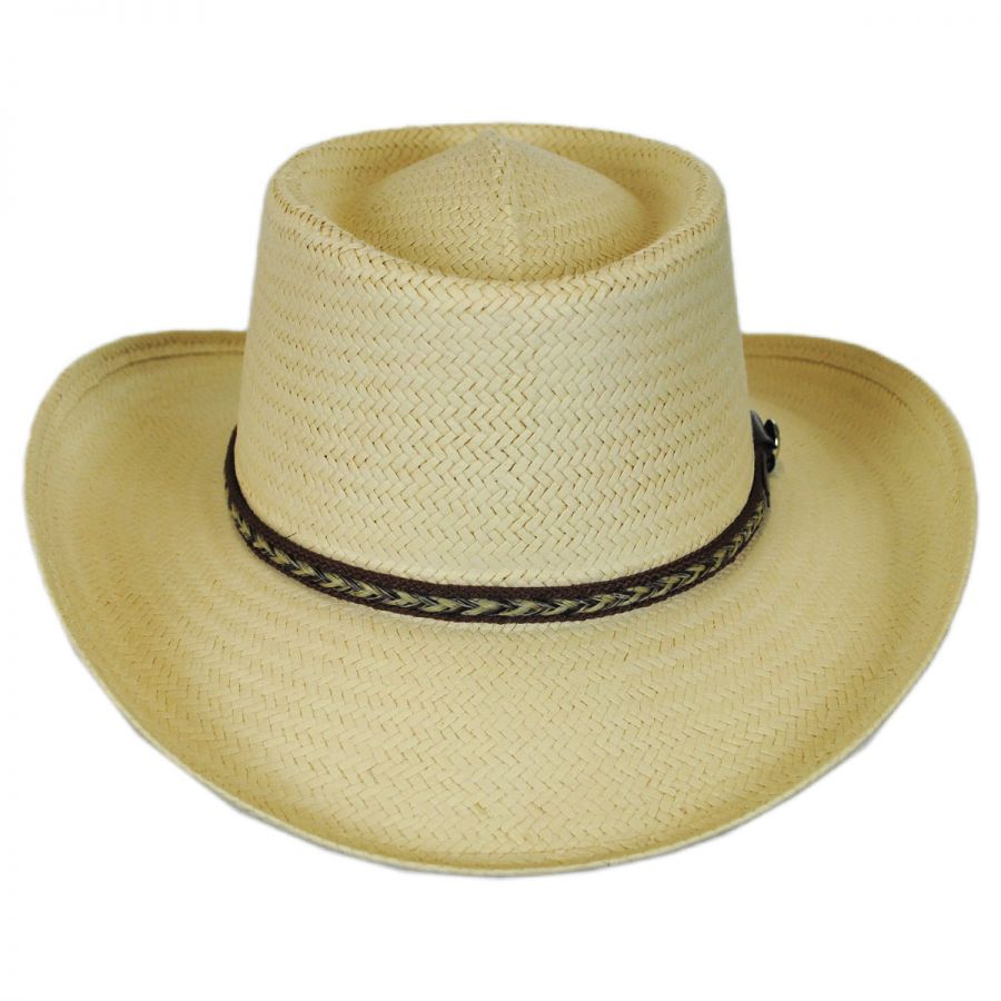Bailey Rockett Toyo Straw Gambler Hat Straw Hats