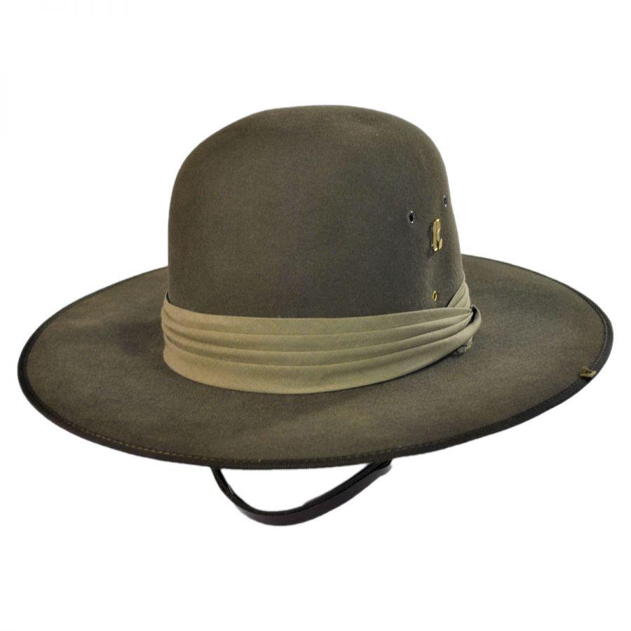 bfe4869cb7b0c Akubra Aussie Slouch Fur Felt Open Crown Hat Big Size Hats