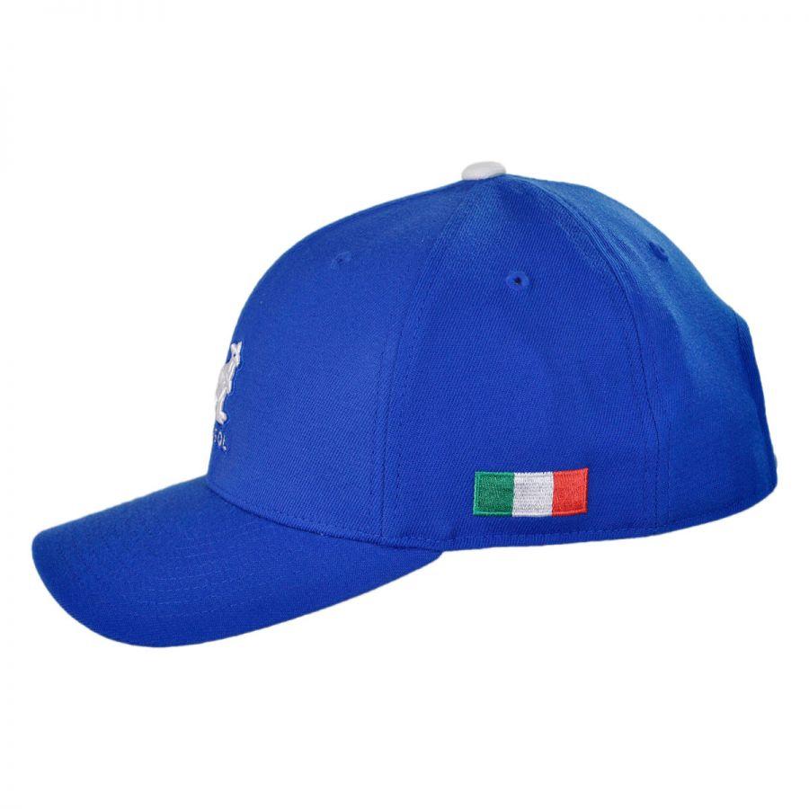 kangol italy nations 110 adjustable baseball cap snapback hats