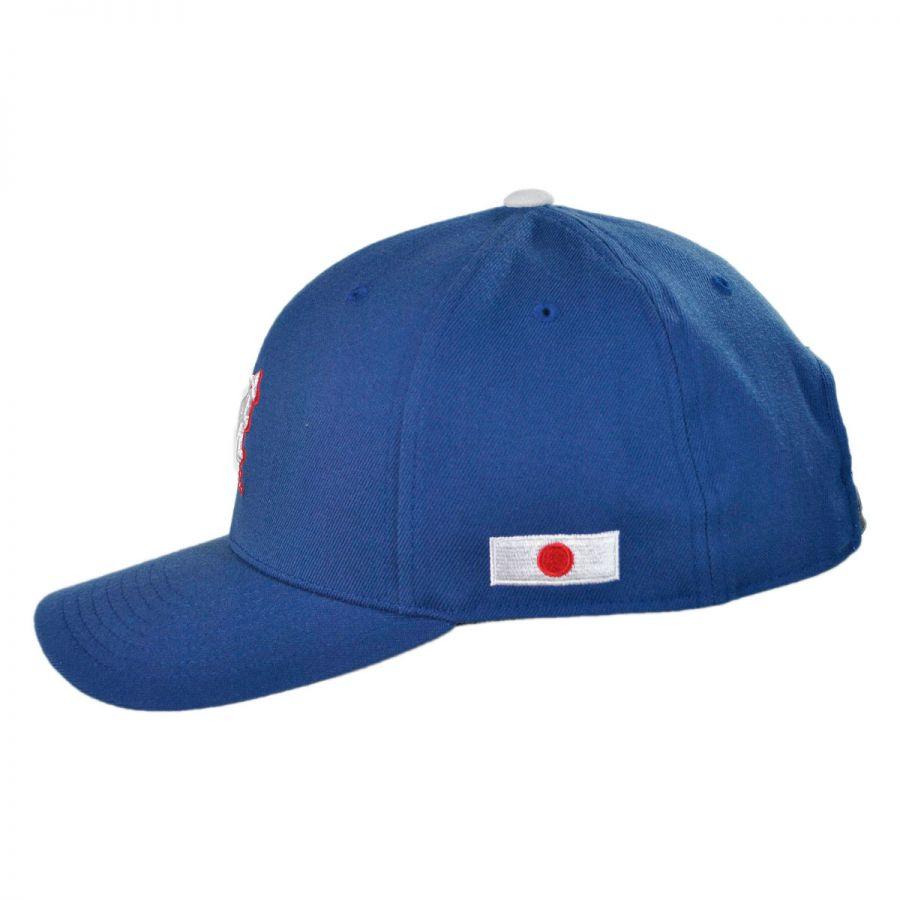 japan nations 110 adjustable baseball cap