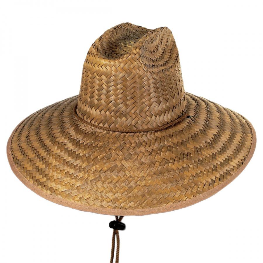 B2B Coconut Straw Lifeguard Hat Straw Hats e7f6db0df55