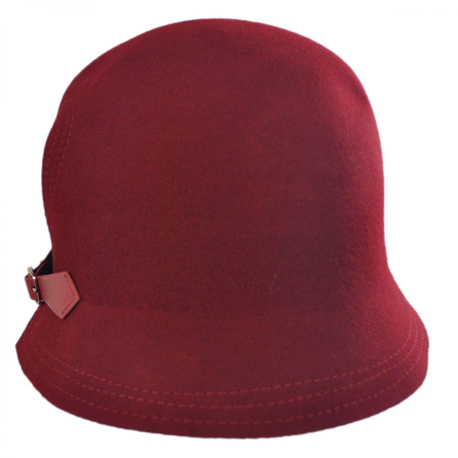 Buckle Hats: Scala Packable Buckle Cloche Hat Cloche & Flapper Hats