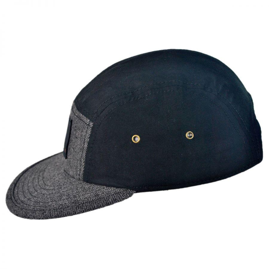 hat co billyburg five panel strapback baseball