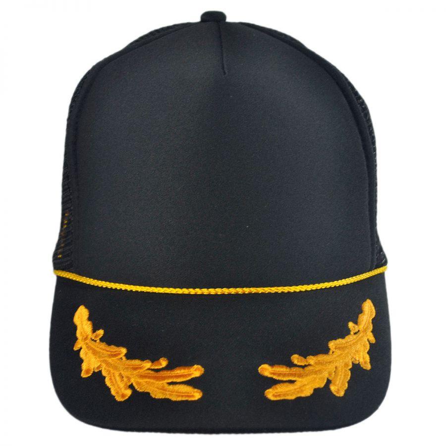 Otto Gold Leaves Mesh Trucker Snapback Baseball Cap Snapback Hats 564a98face6
