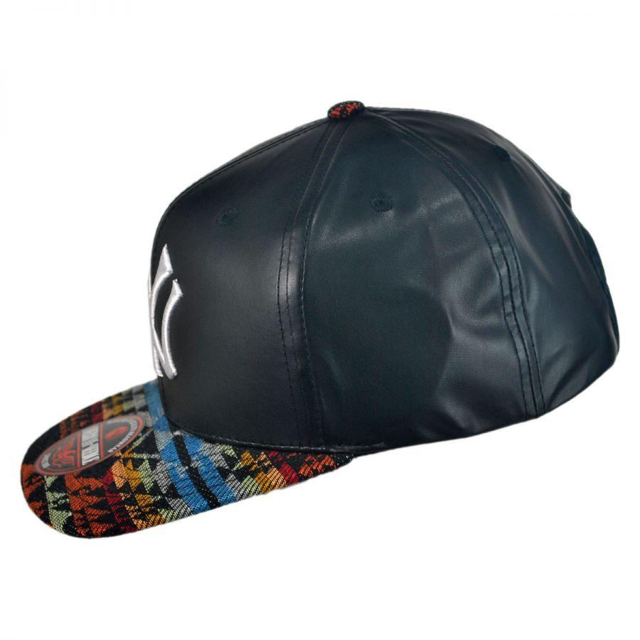 new york yankees mlb sleek strapback baseball cap