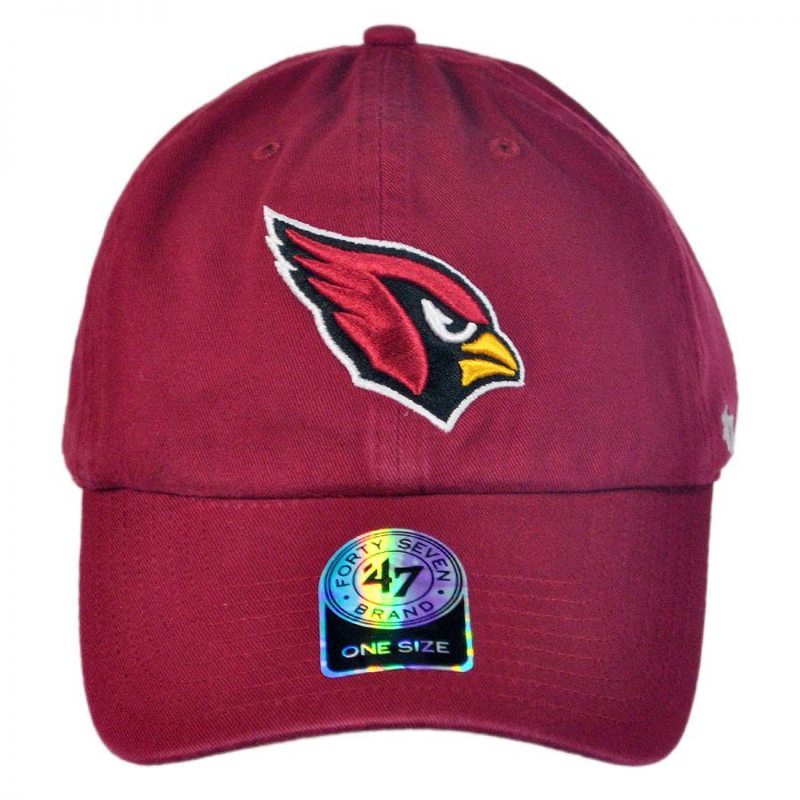 fc7c0ad0677 47 Brand Arizona Cardinals NFL Clean Up Strapback Baseball Cap Dad ...