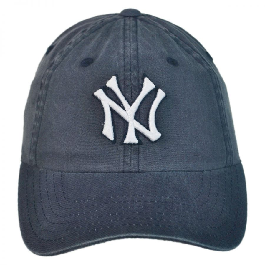 American Needle New York Yankees MLB Raglan Strapback ...