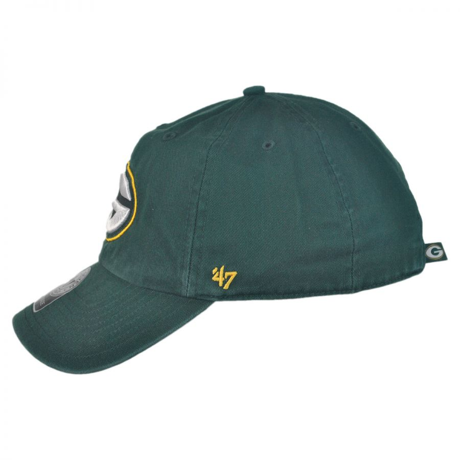 edaf0e5312c05 low cost green bay packers nfl clean up strapback baseball cap dad hat in  6609f 1592b