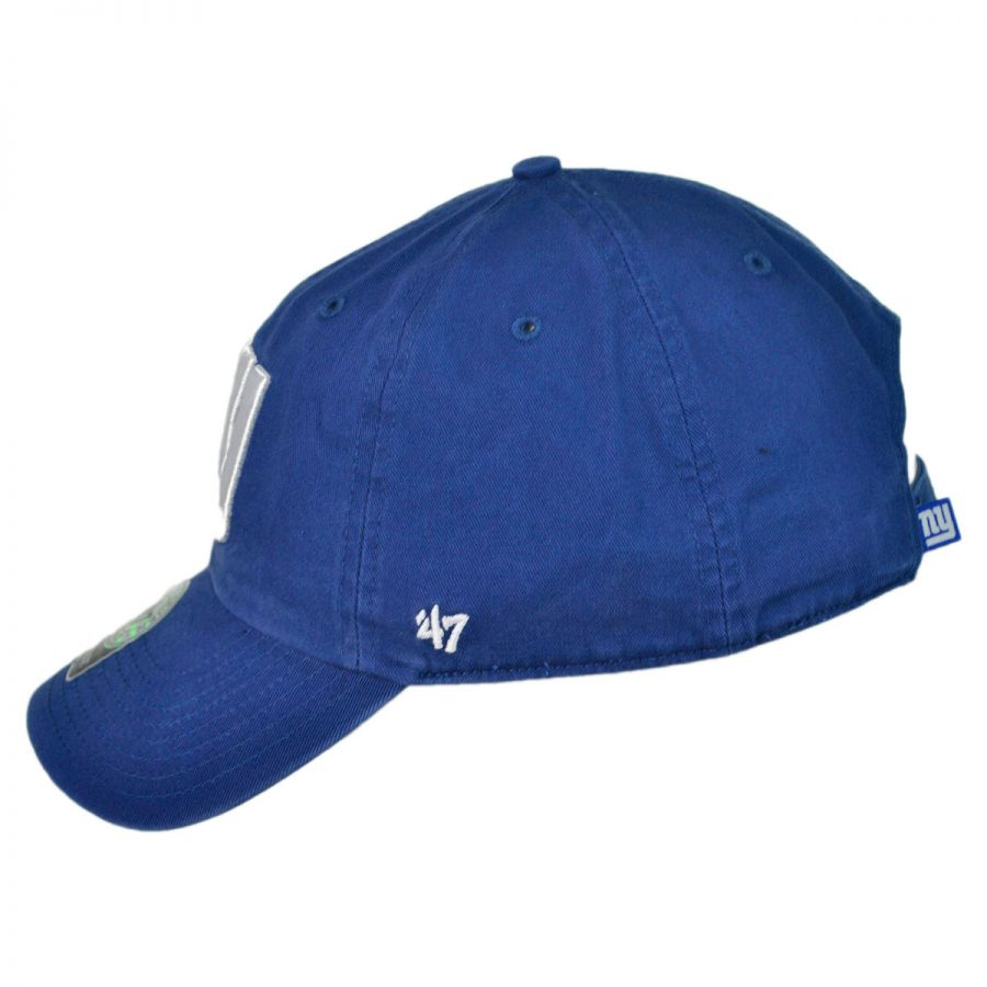 3833c05d37400 47 Brand New York Giants NFL Clean Up Strapback Baseball Cap Dad Hat ...
