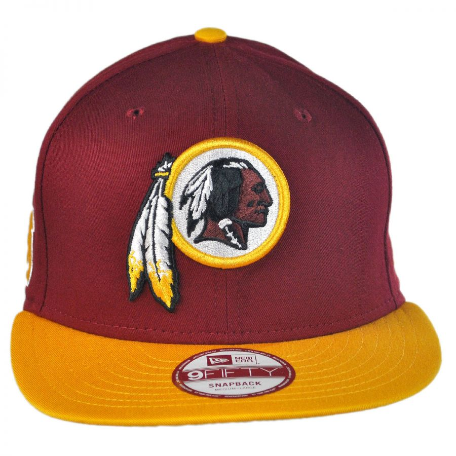 New Era Washington Redskins NFL 9Fifty Snapback Baseball Cap NFL ... 4280961f685