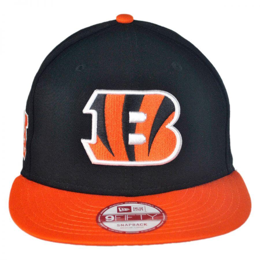 New Era Cincinnati Bengals NFL 9Fifty Snapback Baseball Cap NFL ... ece9537ceb5