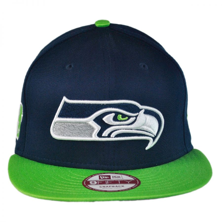 New Era Seattle Seahawks NFL 9Fifty Snapback Baseball Cap NFL ... 860fc9a10b54