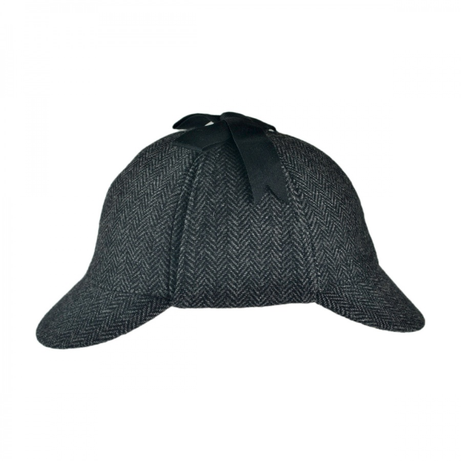Jaxon Hats Sherlock Holmes Herringbone Wool Blend Hat Novelty Hats ... 4fb4721e21be