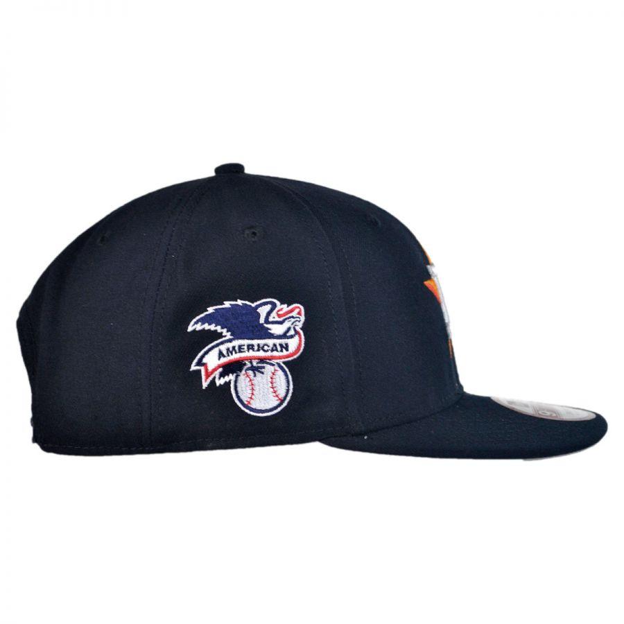 new era houston astros mlb 9fifty snapback baseball cap