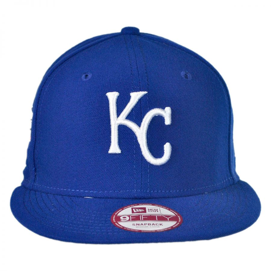new era kansas city royals mlb 9fifty snapback baseball