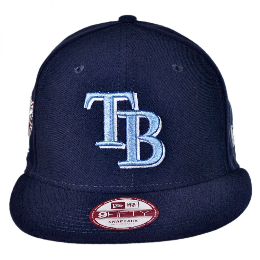 new era ta bay rays mlb 9fifty snapback baseball cap