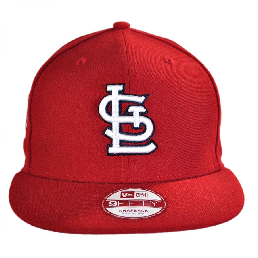 new era st louis cardinals mlb 9fifty snapback baseball