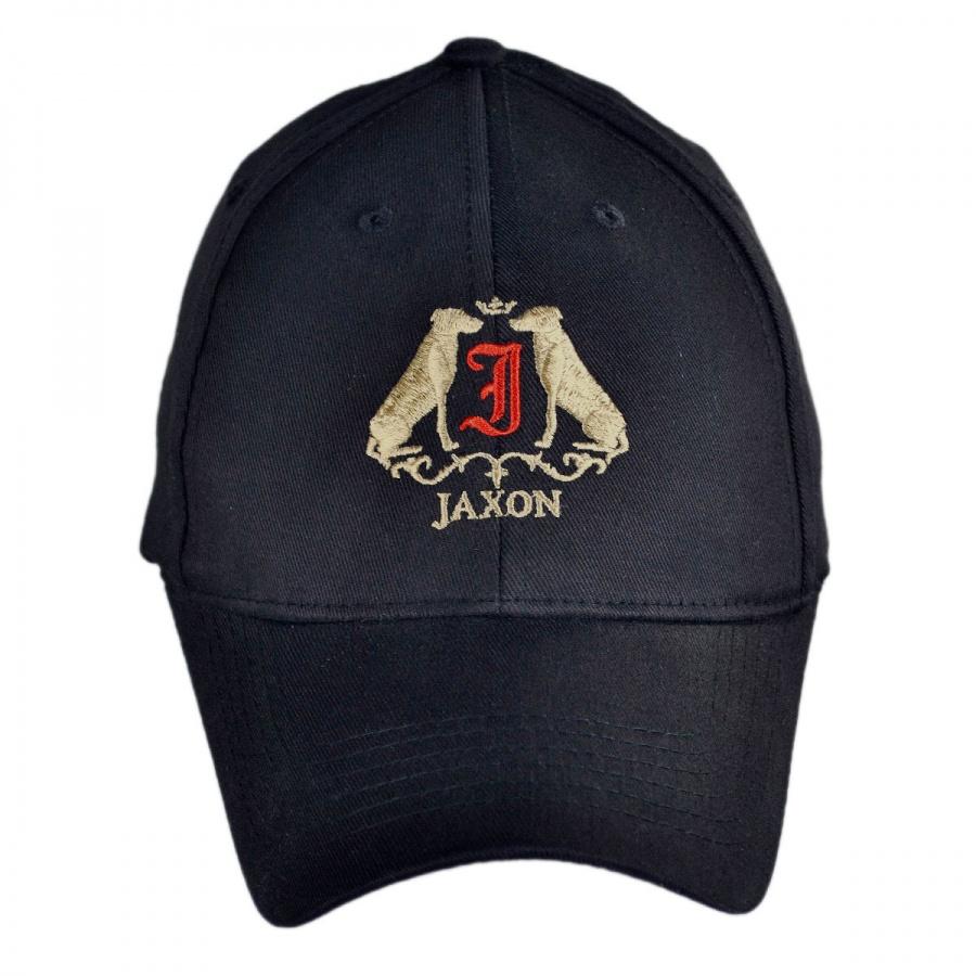 jaxon hats logo fitted baseball cap all baseball caps