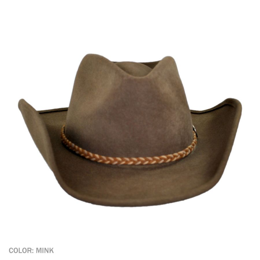 Stetson Rawhide Buffalo Fur Felt Western Hat Western Hats 53f5ed1277e3