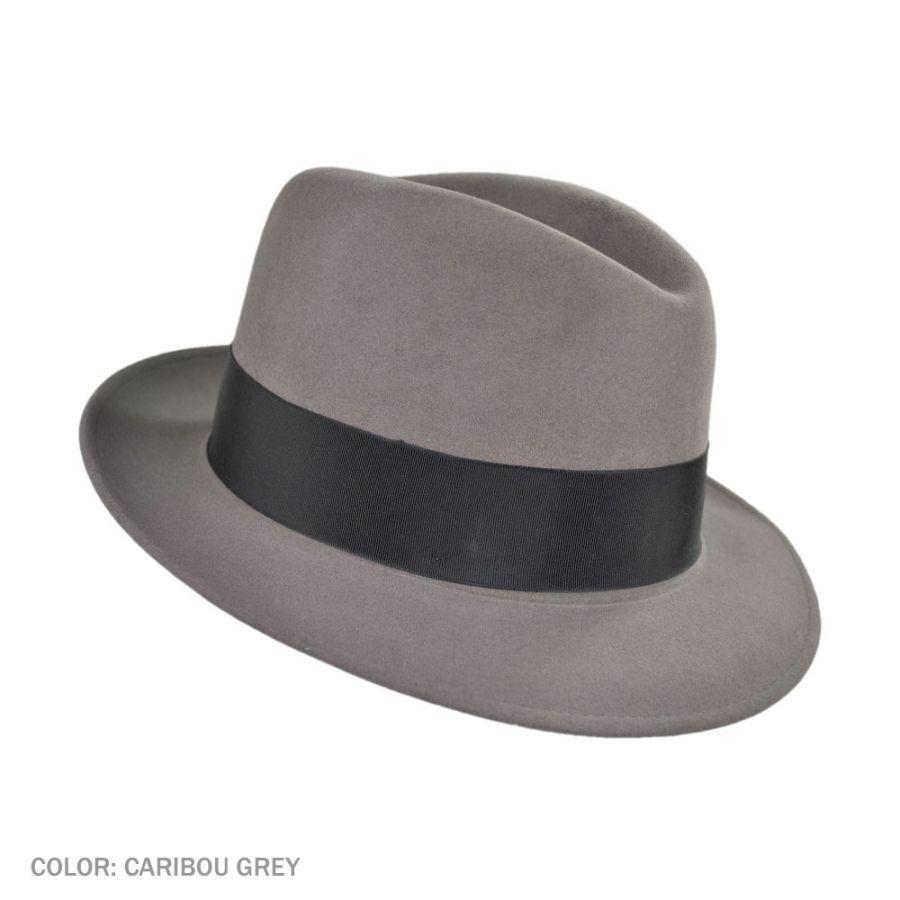 Stetson Saxon Royal Fur Felt Fedora Hat Fur Felt b2dc0d5e0600