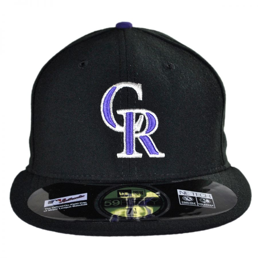 innovative design d485d 8dff8 Colorado Rockies MLB Game 59Fifty Fitted Baseball Cap in