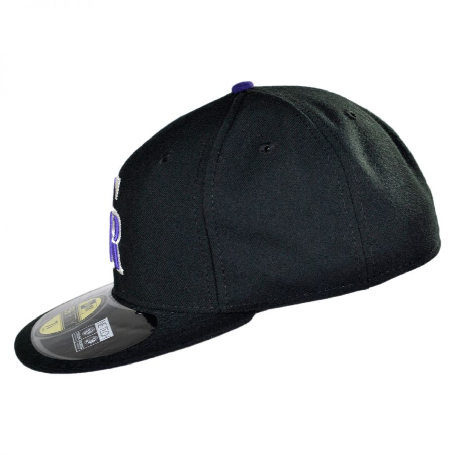innovative design 439e4 07fcf Colorado Rockies MLB Game 59Fifty Fitted Baseball Cap in