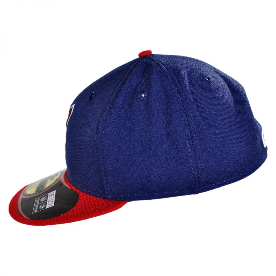 new era cleveland indians mlb home 59fifty fitted baseball