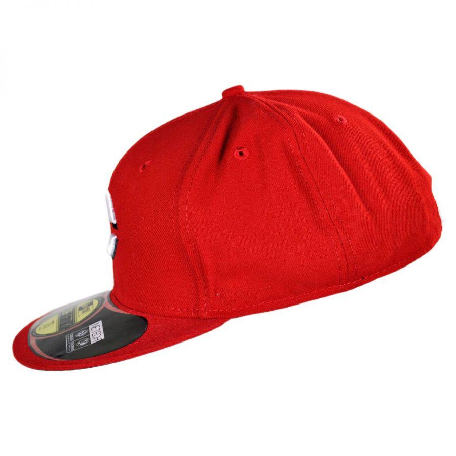 new era cincinnati reds mlb home 59fifty fitted baseball